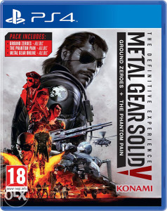 Metal Gear Solid V 5 The Definitive Experience (PS4)