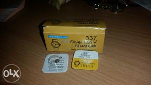 Baterije Baterija za bubicu 337 SR416SW