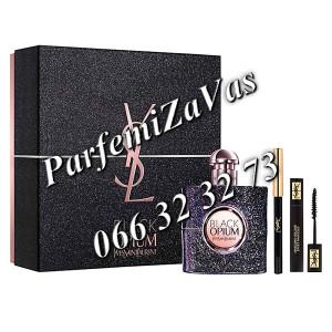 Yves Saint Laurent Black Opium Nuit Blanche 50ml EDP + 2ml Mascara + 8 Siva Olovka