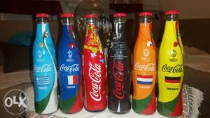 Coca Cola boce iz 2008 godine.