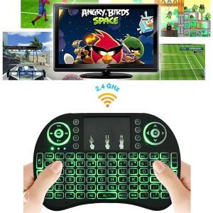 Mini Wi-Fi Tastatura Touchpad PC/Android TV Box