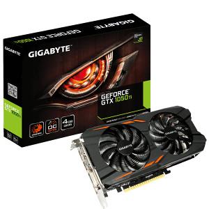 GIGABYTE  GTX 1050 Ti 4GB GDDR5 Windforce OC