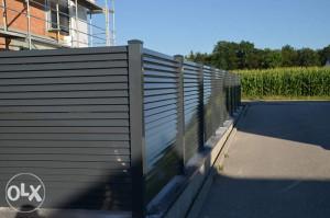Aluminijske dvorisne ograde EKSLUZIVNOG IZGLEDA