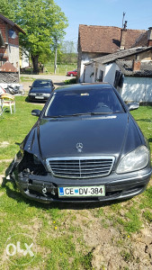Mercedes s 350 benzin 2003