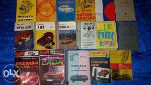 Servisne knjizice.Prirucnici za vozace i automehanicare