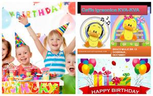 Igraonica Kva Kva: Proslava rođendana