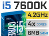CPU LGA1151 Intel Core i5 7600K 3.8-4.2GHz Unlocked