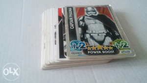Trading cards STAR WARS force attax 21 komad