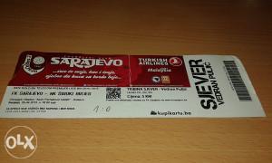 Ulaznica Sarajevo - Široki Brijeg