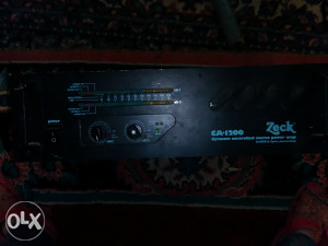 Prodajem orkestarsko pojacala Zack 1200 wati