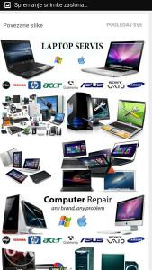 Servis i odrzavanje laptopa, dijelovi, popravka