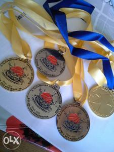 Kosarkaske medalje.