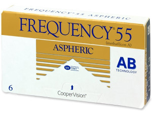 Mjesečne lećeCoopervision Frequency 55 Aspheric