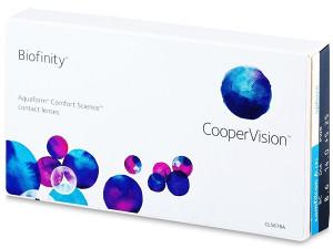 Mjesečne leće Coopervision Biofinity (3 kom leća)