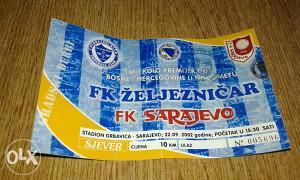 Ulaznica Zeljo - Sarajevo
