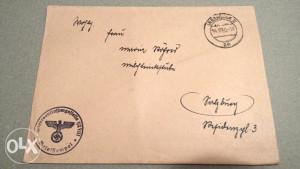 Stara orginalna Kuverta Njemački Rajh iz.1940godine