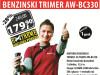 MOTORNI BENZINSKI TRIMER ZA TRAVU AW-BC330