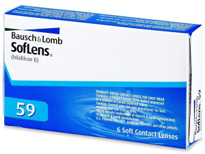 Mjesečne lećeBausch and LombSofLens 59 (6 kom leća)