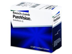 Mjesečne lećeBausch and LombPureVision (6 kom leća)