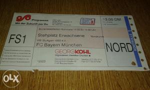 Ulaznica Stuttgart - Bayern
