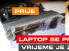 Tehnomax LAPTOP čišćenje servis termalna pasta notebook