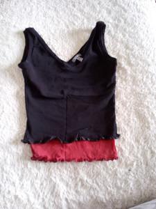 Dječja majica crno crvene