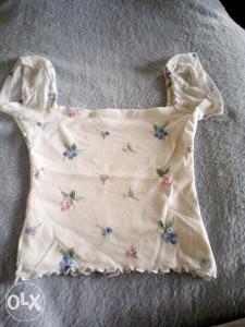 Dječja majica s cvijetićima
