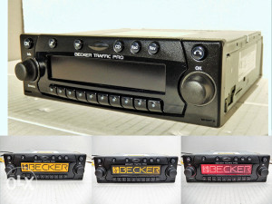 Auto radio Cd Becker traffic pro
