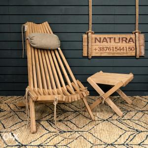 Stolica NATURA stolice od punog drveta