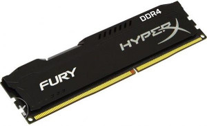 DDR4 8GB 2400MHz HyperX Fury Kingston