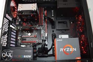 AMD RYZEN 7 1700x AM4 / B350 GAMING 3 / 16GB DDR4 / 2TB