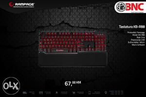 Gamerska tastatura Rampage KB-R88