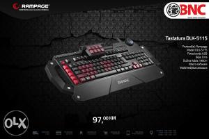 Gamerska tastatura Rampage DLK- 5115