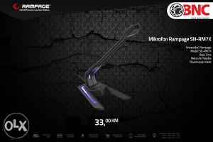 Gamerski mikrofon Rampage SN-RM7X