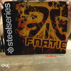 SteelSeries QcK podloga 300x250x2 FNATIC Edition