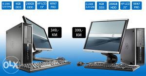 "AKCIJA HP 8200 i5-2500 + LCD 22"" monitor"