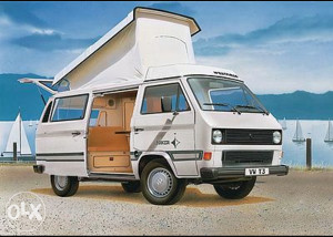 VW T3 westfalia kombi kamper