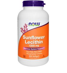 Sunflower Lecithin Lecitin / 200 mekih kapsula