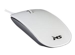 Mouse MS GLOSS žični USB optički miš BIJELI 1000dpi MSI