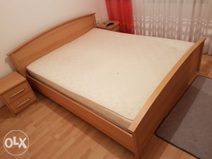 Bracni krevet sa madracem spavaca soba NOVO