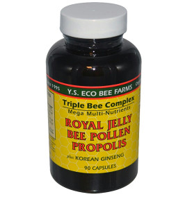Royal Jelly + Polen + Propolis + Ginseng panax