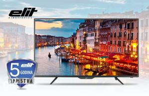 """Elit 40"""" LED TV L-4017ST2 DVB-S2 garancija 5 godina !!!"""