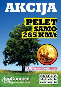 PELET - PELLET 265KM/t - KUPOVINA NA RATE !