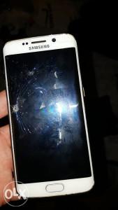 Samsung s6 edge ispravan, puklo staklo