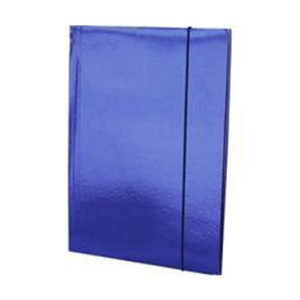 FASCIKLA SA GUMICOM A4 600 gr FORNAX plava (5256)