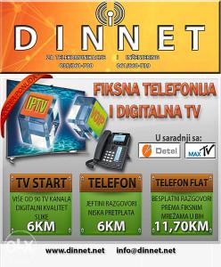 FIKSNA TELEFONIJA I DIGITALNA TV
