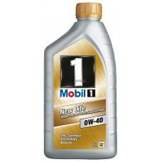 MOBIL 1 NEW LIFE OIL 0W40 1L