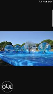Lopte za hodanje po vodi zabavni park