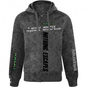 Mustad mch02 Pro Wear Hoody Kaiju Gray duks