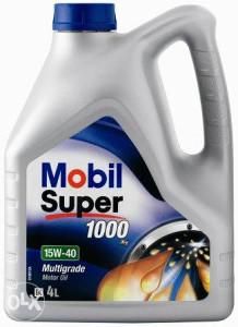 MOBIL SUPER 1000X1 OIL 15W40 5L